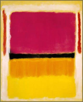 Mark Rothko, Red, orange, tan and purple