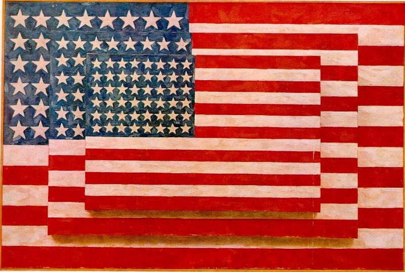 Jasper Johns Three Flags